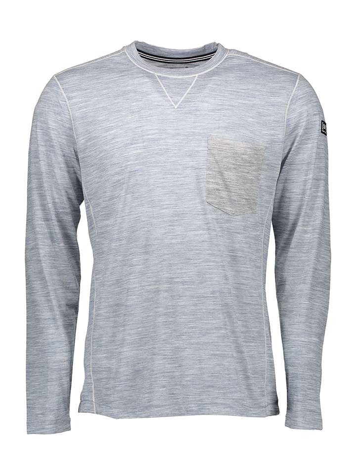 Super.natural Shirt in Grau -40% | Größe XXL Langarm Tops Sale Angebote Horka