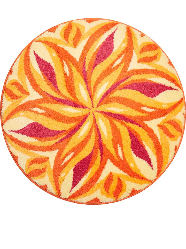 Grund Badteppich ´´Tanzender Himmel´´ in orange -41% | Größe 80 cm Badematten Sale Angebote Wiesengrund