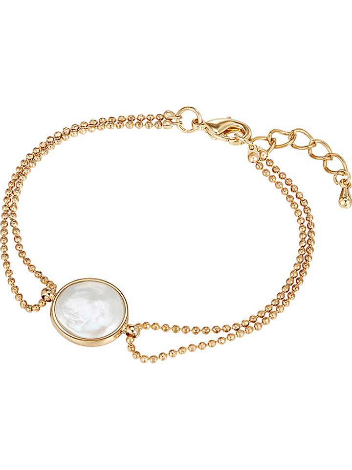 Pearls of London Vergold. Armkette mit Schmucke...