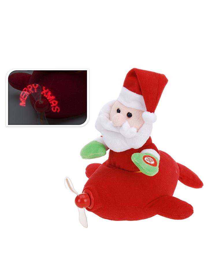 - Dekofigur ´´Weihnachtsmann´´ in Rot - H 34 cm - 48 Kinder kuscheltiere