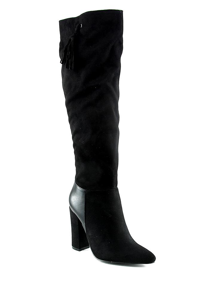 Türkendorf Angebote Poti Pati Stiefel in Schwarz - 62%   Größe 40 Damen stiefel