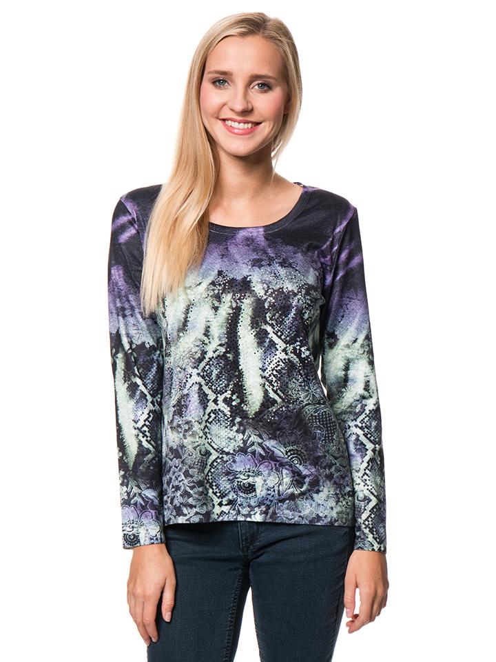 JESSICA GRAAF Shirt in Bunt - 75% | Größe S Damen tops