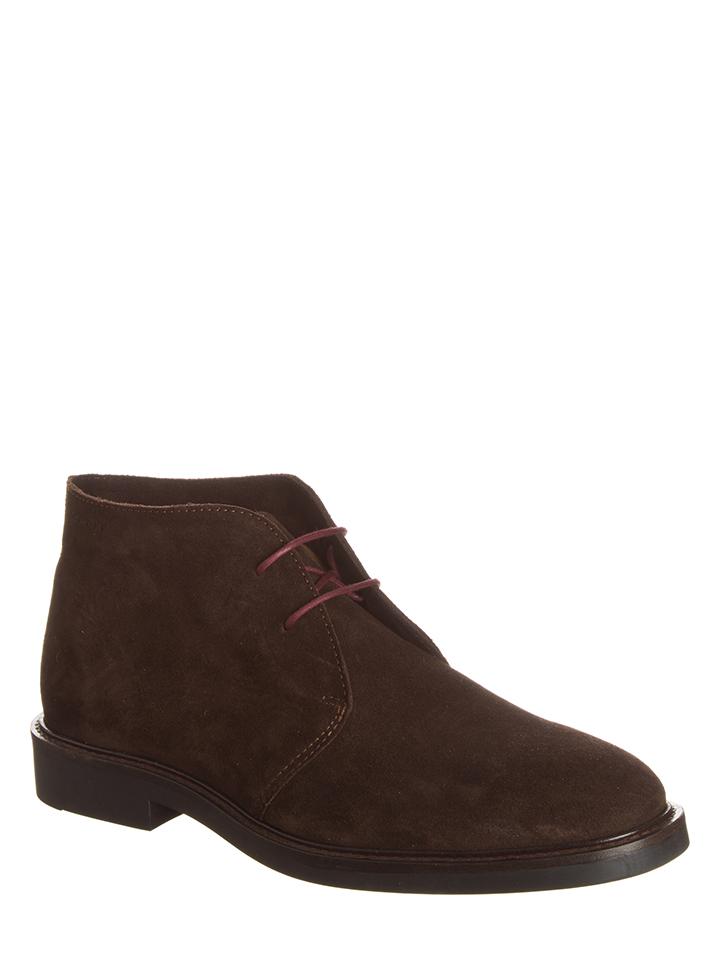 GANT Footwear Leder-Schnürschuhe ´´Spencer´´ in Braun - 44% | Größe 43 Herren schnuerschuhe