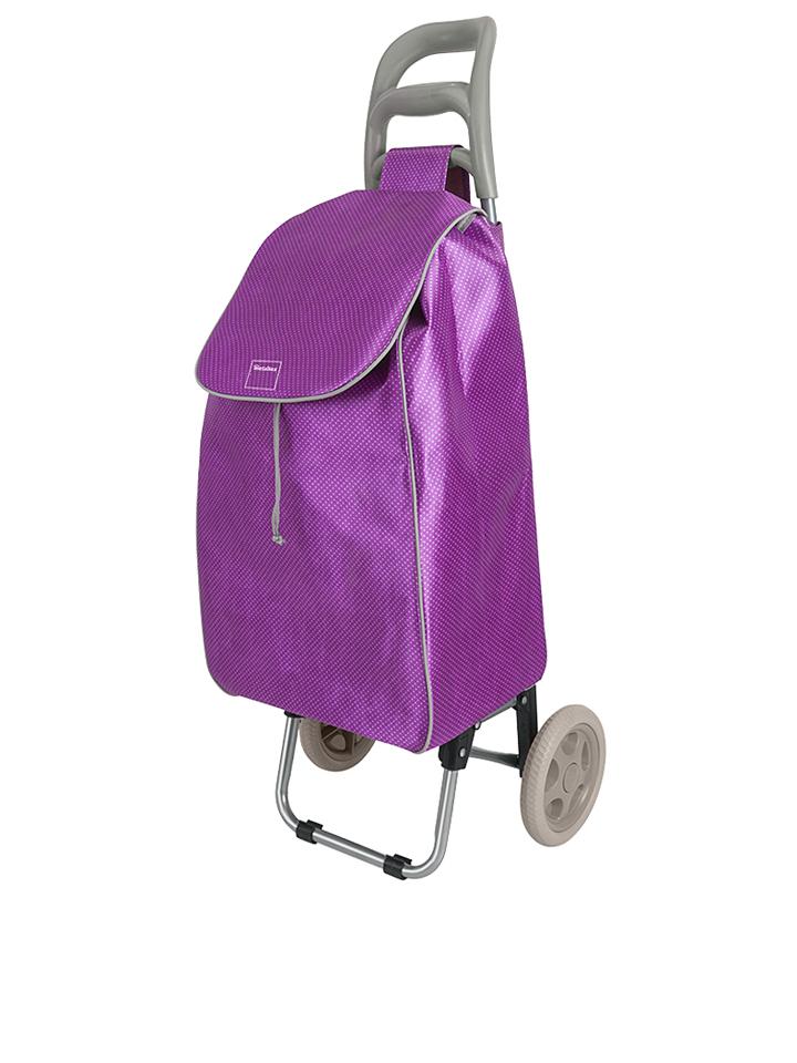 Metaltex Shopping-Trolley ´´Aster´´ in Violett ...