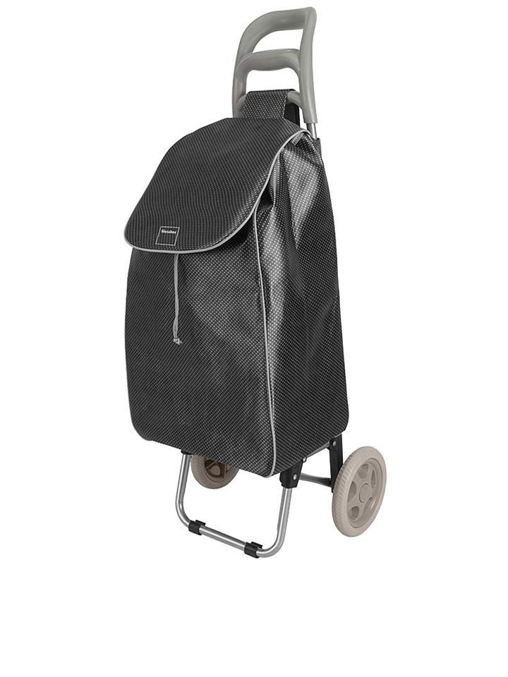 Metaltex Shopping-Trolley ´´Aster´´ in Schwarz ...