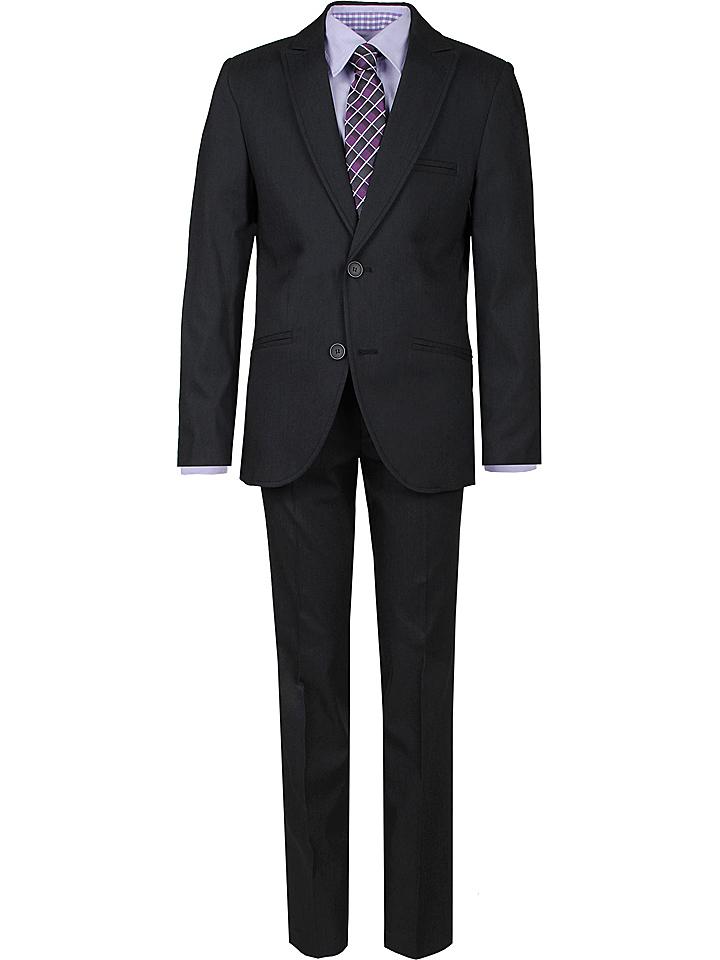 New G.O.L Boys Anzug - Slim fit in Dunkelgrau 52% | Größe 158 Kinder anzuege kostueme