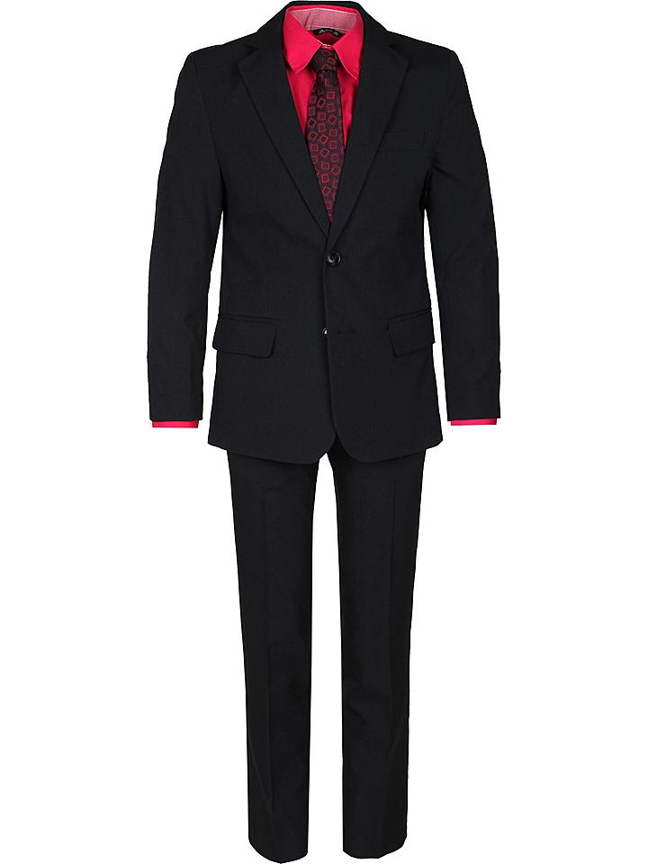 New G.O.L Boys Anzug - Regular fit in Schwarz 49% | Größe 170 Kinder anzuege kostueme