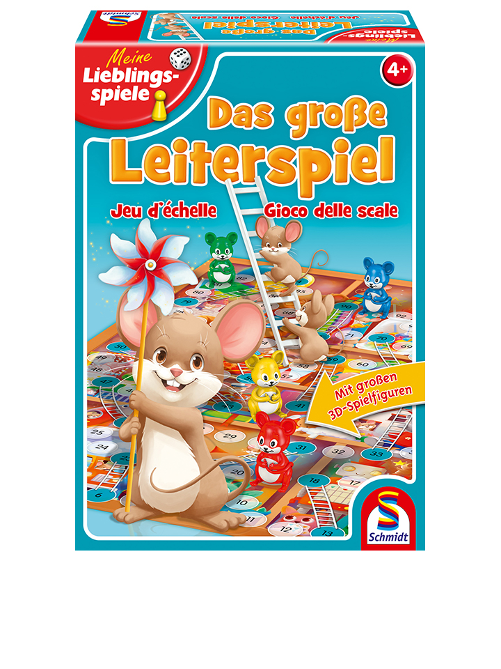 Schmidt Spiele Brettspiel ´´Das große Leiterspi...