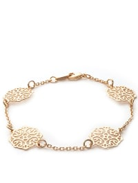 L'atelier parisien Vergold. Armkette mit Schmuckelementen