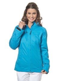 Maier Sports 2-in-1-Funktionsjacke in blau