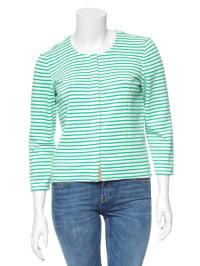 Vero Moda Cardigan in grün/ weiß