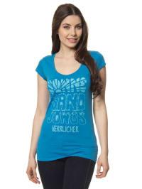 """Herrlicher Shirt """"Kandeen"""" in Blau"""