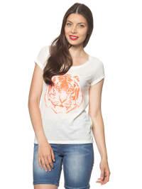 "Vero Moda T-Shirt ""Livia"" in weiß"