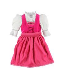 """Turi Landhaus Dirndl """"Anna"""" mit Bluse in pink/ weiß/ rosa"""