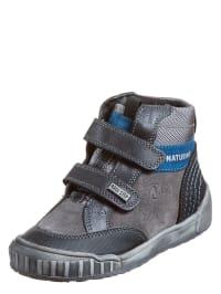 "Naturino Sneakers ""Vioz"" in grau/ schwarz/ blau"