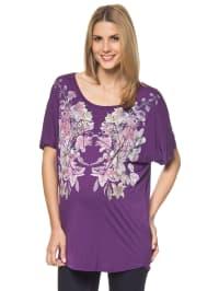 Mama licious Shirt in lila/ bunt