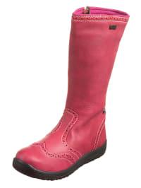 "Naturino Lederstiefel ""Meja"" in pink"