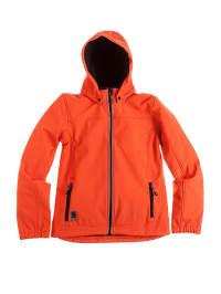 Topo Softshelljacke in Orange