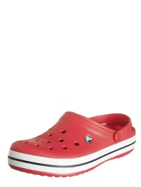 "Crocs Clogs ""Crocband"" in Rot/ Schwarz"