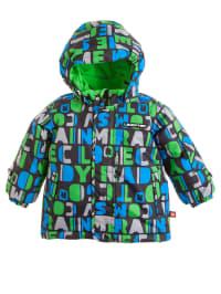 "Legowear Skijacke ""Josh"" in grün/ blau"