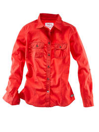 Roadsign Bluse in Rot