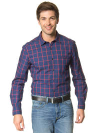 Mexx Hemd in Blau/ Rot