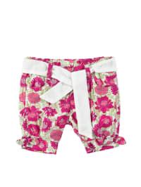 Steiff Shorts in Pink/ Weiß/ Grün