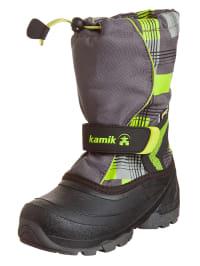 """Kamik Winterstiefel """"Snowbank2G"""" in grau/ grün"""