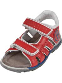 Romagnoli Leder-Sandalen in rot