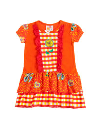 Dutch Bakery Kleid in orange/ bunt