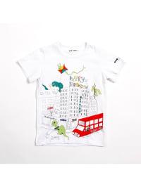 Mio My Mio Shirt in Weiß/ Bunt