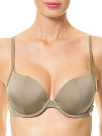Skiny Bikini-Oberteil in khaki