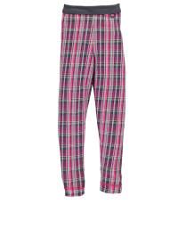 Sanetta Pyjamahose in Grau/ Pink