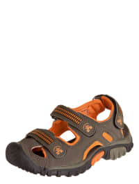 "Kamik Trekkingsandalen ""Ventura"" in oliv/ orange"