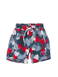"Color Kids Color Kids Color Kids Badeshorts ""Nextor"" in Grau/ Rot"
