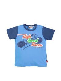 "Legowear Shirt ""Tajs"" in dunkelblau/ blau"