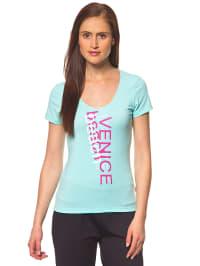 """Venice Beach Funktions-Shirt """"Salsa"""" in Türkis"""