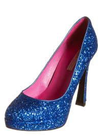 Buffalo High-Heels in blau