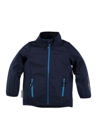 "Ticket Outdoor Softshelljacke ""Nevin"" in Dunkelblau"