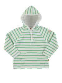 Steiff Pullover in Weiß/ Grün