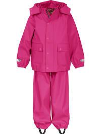 Ticket Outdoor Regenanzug in Pink