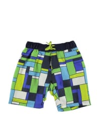 "Color Kids Color Kids Badeshorts ""Reino"" in Blau/ Grün"