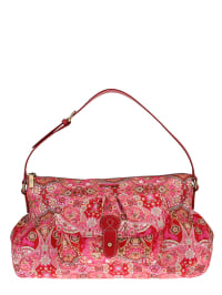 Oilily Schultertasche in pink/ rot - (B)37 x (H)24 x (T)12,5 cm