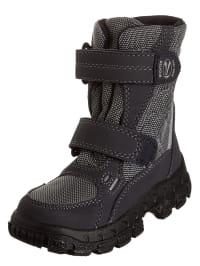 Richter Shoes Stiefel in Anthrazit/ Grau