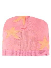 Noppies Strickmütze in rosa/ orange