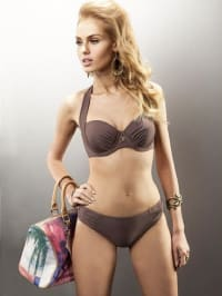 "Aquarilla Bikini ""Paris"" in Braun"
