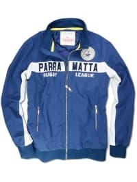 Roadsign Jacke in Blau/ Weiß