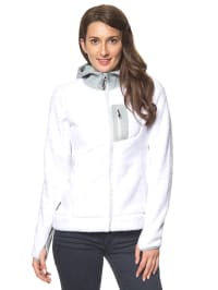 "Alpine Pro Fleecejacke ""Arsenio"" in Weiß"