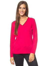 Bluhmod Kaschmir-Pullover in Pink