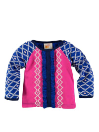 Dutch Bakery Longsleeve in Fuchsia/ Dunkelblau